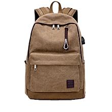 singedanStudent Boy Laptop Backpack School Bag School Backpack Men Woman Travel Bag CO -Coffee