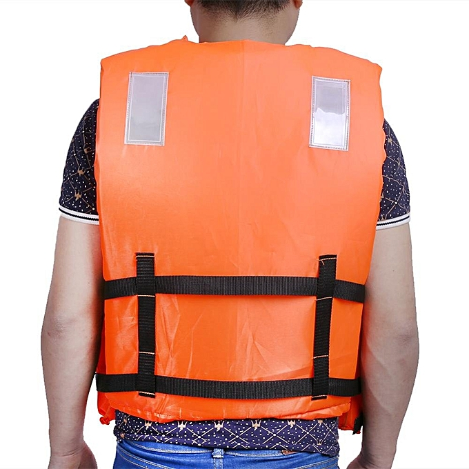 08ad66d500b ... Orange Adult Flood Foam Life Jacket Swimming Life Vest With Reflective  Strap and Whistle