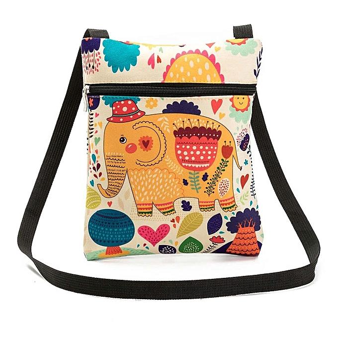 2ef9e15153 Hiamok Printing Elephant Tote Bags Women Shoulder Bag Handbags Postman  Package ...
