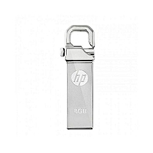 8GB HP Flash Disk Drive - Silver.