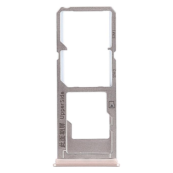 2 x SIM Card Tray + Micro SD Card Tray for Vivo Y53(Gold)