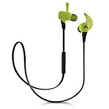 X2 Wireless Headphone Mini Sport Gaming Bluetooth Earphones Headphones Fire (Green)