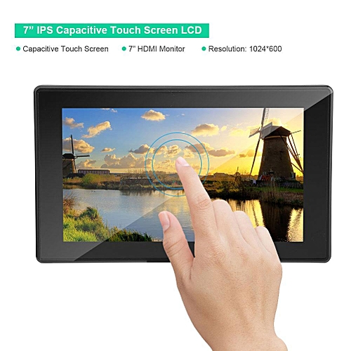 Buy Generic 1024x600 7 IPS Touch Screen LCD Display With HDMI VGA Support Multi Mini PCs Systems Best Price