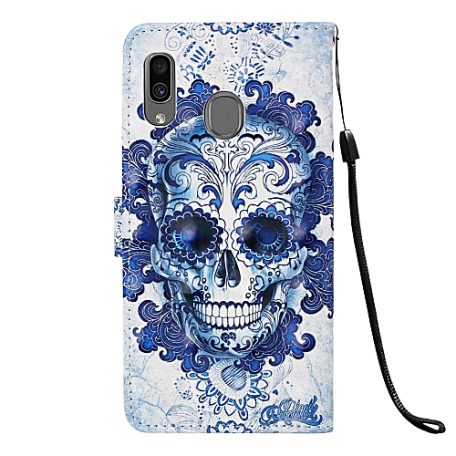 Aiyze Compatible with Samsung Galaxy A30 Case, Galaxy A20 Case, 3D Leather  Wallet Heavy Duty Full Body Protective Phone Cover Credit Card Slot