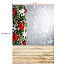 Andoer 1.5 * 2.1m/5 * 7ft High Quality Christmas Style Photography Background Baby Children Family Backdrop Photo Studio Pros