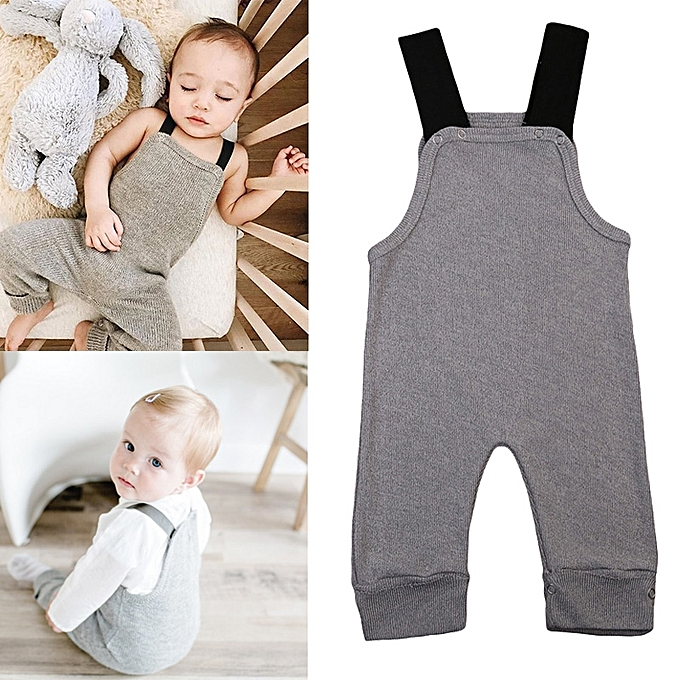 4820a8bcf682 Generic 0-24M New Autumn Unisex Baby Newborn Knitted Rompers ...