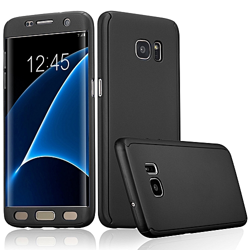 lowest price af4f7 1e89a Generic Samsung S7 Edge 360 Full Protection Case with Screen Guard ...