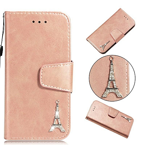 new concept 8227c e694a Mosaic Metal Eiffel Tower PU Leather Wallet Case Cover for Samsung Galaxy S3