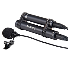 Aputure A.lav Portable 3.5mm Mini Tie Lavalier Collar Clip Microphone For Recording Pen Phone Tablet