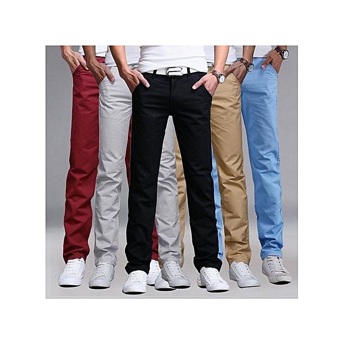 8b9743d0802 Generic 5 Pack Mens Khaki Pants - Maroon