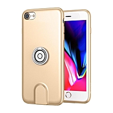 Baseus Wireless Charger Case With Magnetic Charging Car Holder For iPhone 7/8 Gold