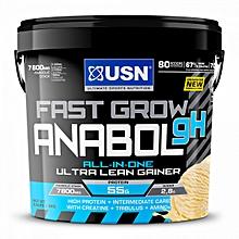 Fast Grow Anabolic - 4kg - Vanilla