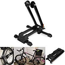 Bike Stand Adjustable Floor Parking Rack Bicycle Storage Folding Holder