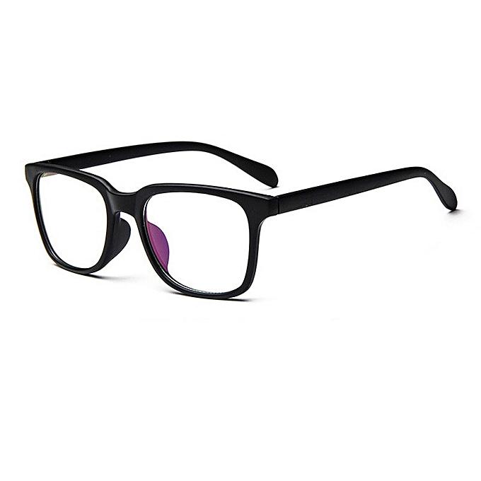 7027e8f670 Vintage Men Eyeglass Frame Glasses Retro Spectacles Clear Lens Eyewear For  Men -Black
