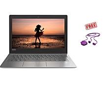 """Ideapad 120s 11.6"""" - Intel Celeron 3350  - 500GB HDD - 4GB RAM - No OS -GREY+Free HP Bluetooth Earphones"""