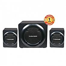 MP-8117 High End Hi-Fi Multimedia 2.1 Subwoofer With Bluetooth & FM Radio RMS 50W.