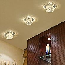 New Gorgeous Modern Durable Crystal Pendant Warm White Lamp Ceiling Decor Light