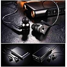 QKZ KD10 Dual-Driver In-Ear Wired Headphone HIFI Sport Earphone Earbuds Headset With Mic PRI-P