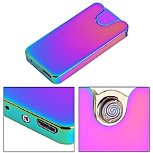 Creative Personality Super Thin Windproof Shake Electronic Cigarette Lighter