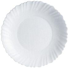 Dinner Plate Set of 6, White .