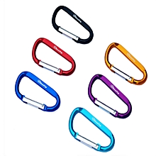 Outdoor Camping Carabiner Water Bottle Hook Hang Buckle Key Ring with Lock