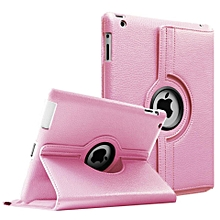 1 Pc/lot PU Leather 360 Rotating Case Stand Smart Cover Magnetic Case For Apple iPad 2 3 4 Multi-Color HSL-G