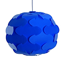 YK2238 12PCS IQ Lampshade with Puzzle Creative Decor Design for Room Bar - Blue