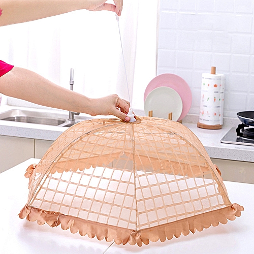 Food Umbrella Cover Picnic Barbecue Party Fly Mosquito Mesh Net Tent NEW Kitchen Tool