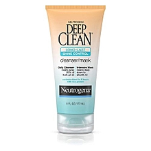Deep Clean Long-Last Shine Control Cleanser/Mask - 177ml.