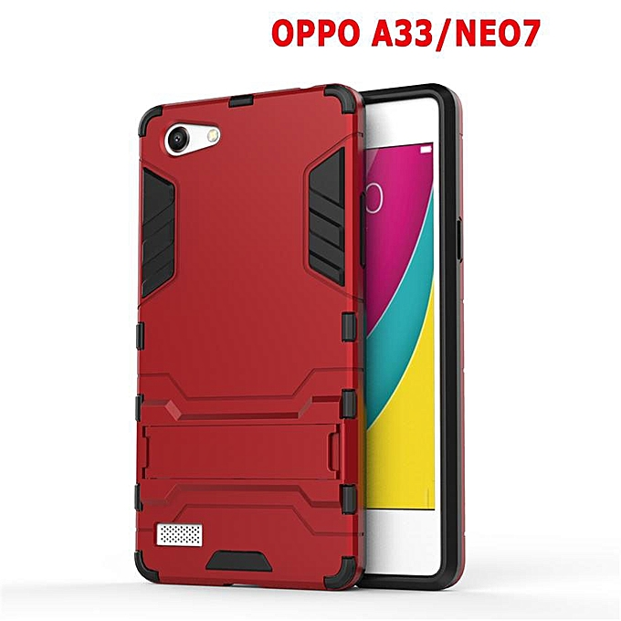 360 Degrees Ultra-thin Hard Back Cover For OPPO A33 / NEO 7 Detachable 2 ...
