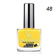Rich Color Nail Lacquer - 48 - 10.5ml