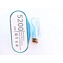 Power bank-Blue, plus one free USB LED lamp