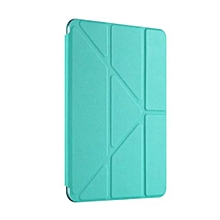 Smart PU Leather Ultra Slim Smart Magnetic Wake/Sleep Flip Pad Cover + Translucent Protect Back Cover Case for Apple iPad 2/3/4 CHD-Z