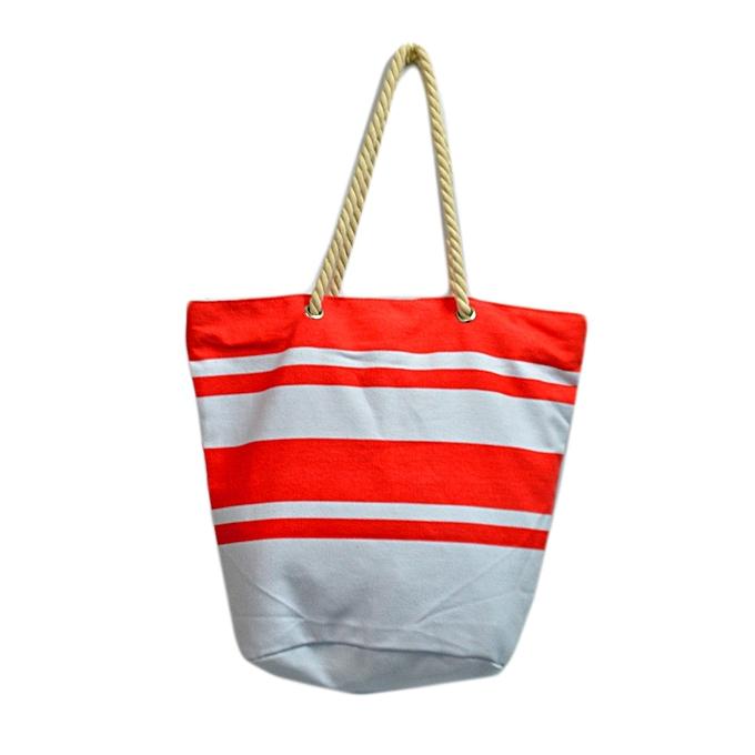 4793c0e6b Generic Red And White Striped Canvas Bag @ Best Price | Jumia Kenya