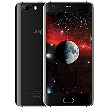 Rio 3G Smartphone 5.0 inch Android 7.0 MTK6580A Quad Core 1.3GHz 1GB RAM 16GB ROM GPS 3D Curved Glass Screen - Black