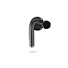 V1 Bluetooth Wireless Headphones Smallest Cordless Hands-free Mini Earphones Headset Mic & Noise Reduction(Black)