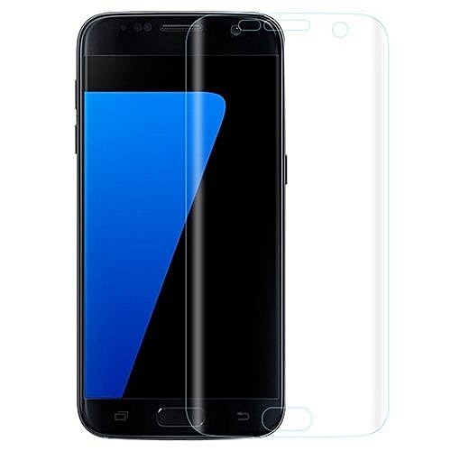 3f029d96757 Generic Full Covered Curved Tempered Glass Screen Protector For Samsung  Galaxy S7 Edge (Transparent)