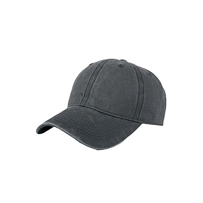Fashion Women Men Adjustable Solid Cap Colorful Flower Print Baseball Hat  Shade c896309ca99
