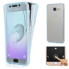 Scratch Proof 360 Front and Back Full Body Protection Flexible TPU Bumper Case Anti Scratch Protective Case Cover for Samsung Galaxy A7 2016 / A710 XBQ-A