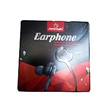 Super Clear Ear Buds Noise Isolating Earphone - Black