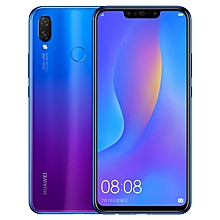 Huawei nova 3i, 4GB+128GB, Dual Back Cameras + Dual Front Cameras, Face & Fingerprint Identification, 6.3 inch Android 8.1 Kirin 710 Octa Core, 4 x Cortex A73 2.2GHz + 4 x Cortex A53 1.7GHz, Network: 4G, Dual SIM(Purple)