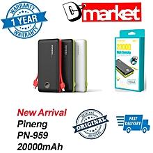 Pineng PN-959 20000mAh Power bank PN959 BGmall