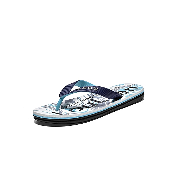 a1aac23dbb4f ... Refined Super Large Size Men s EVA soft-bottomed flip flops Waterproof  non-slip breathable ...