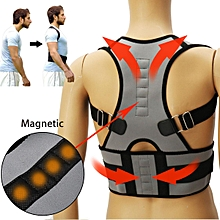 Adjustable Posture Corrector Belt for Lumbar Lower Back Support Shoulder Brace Size M