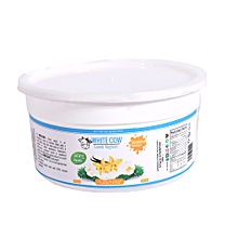 1 kg Vanilla flavoured Greek yogurt (natural Vanilla flavour and natural sweetener added,no preservative)