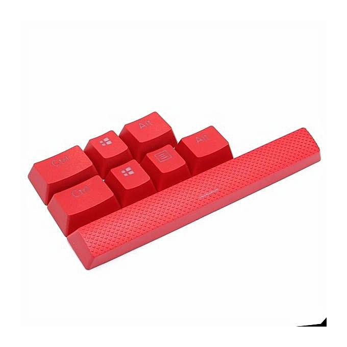 Backlit Red KeyCaps 8 Keys For Corsair Strtafe K70 RGB K65 K95 Gaming  Keyboards