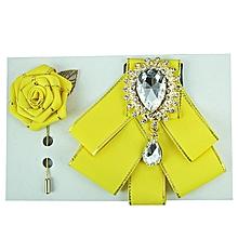 Bow-Tie Set - Yellow