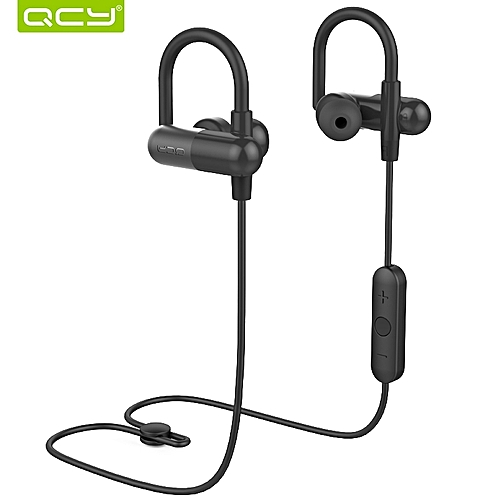 QCY QY11 Aptx HiFi 3D Stereo Earphones Bass Music Headset Bluetooth 4.1 Wireless Headphones Sports Ear Hook for Ios Android   DUXDD
