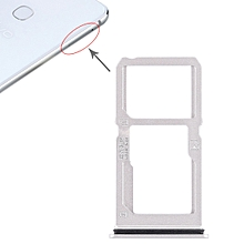 SIM Card Tray + SIM Card Tray / Micro SD Card Tray for Vivo X21i (Silver)