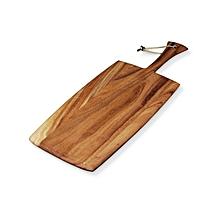 Ironwood Gourmet Large Rectangular Paddle/ Chopping  Board - Brown